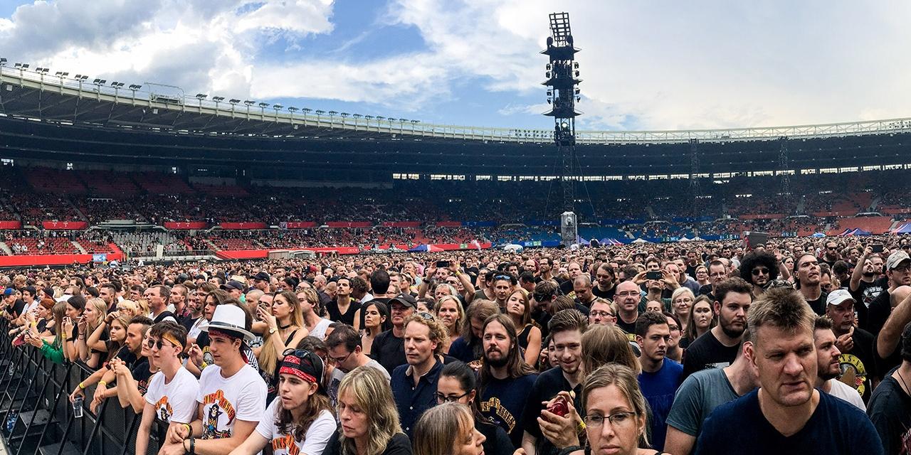 Guns N' Roses im Happel-Stadion