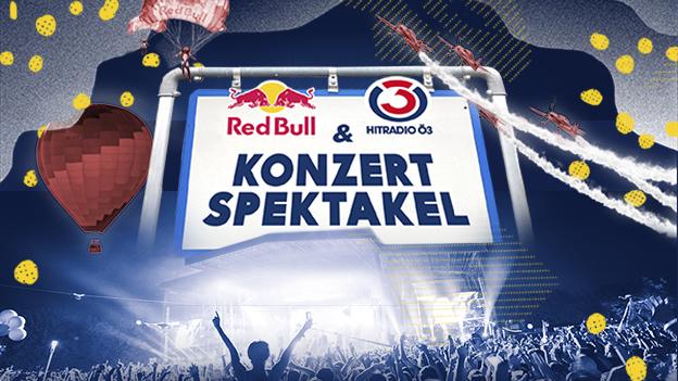 Das Red Bull und Ö3 Konzertspektakel