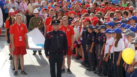 Eröffnung Feuerwehrolympiade