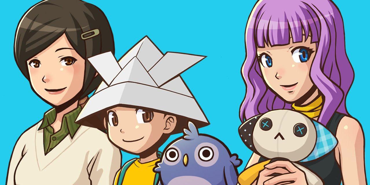 Die Figuren von Rakuen