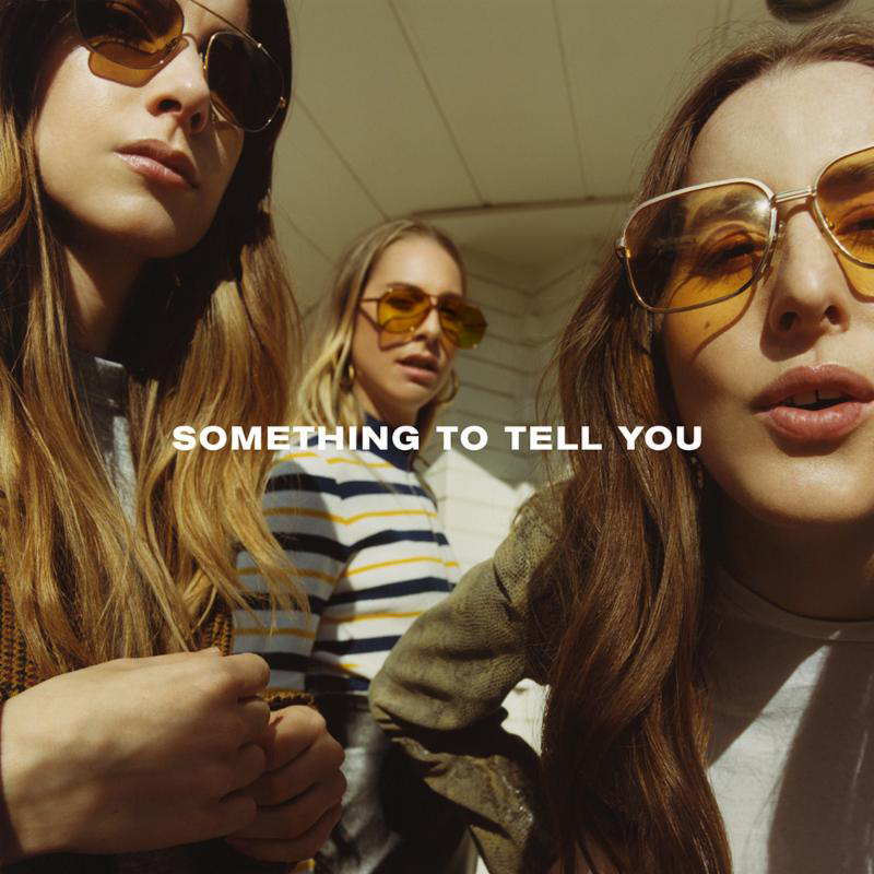 "Albumcover von ""Something to tell you"""