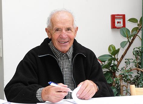 Mapuche-Missionar Josef Kindslehner, 2006