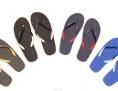 Flip-Flops in Khaki, Schwarz und Blau