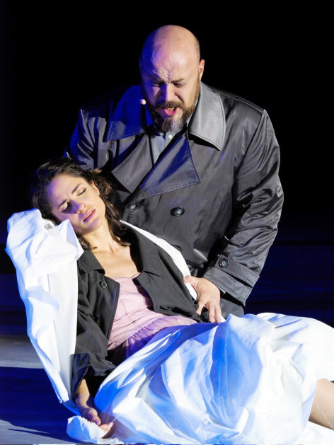"""Rigoletto Exklusiv in ORF III: Giuseppe Verdis """"Rigoletto"""" aus der """"Oper im Steinbruch"""" 2017"""