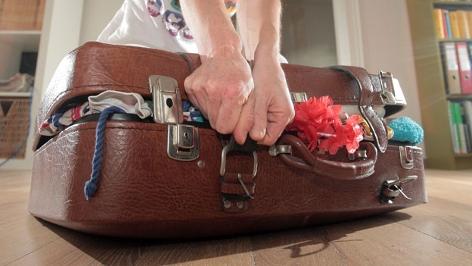 Koffer packen Urlaub