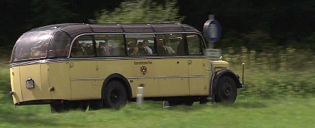 Nostalgiefahrt mit dem Glocknerbus