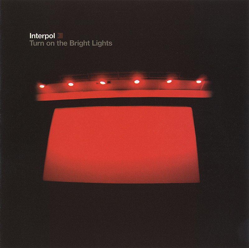 "Cover des Interpol-Albums ""Turn on the Bright Lights"""