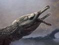 Künstlerische Darstellung von Lemmysuchus