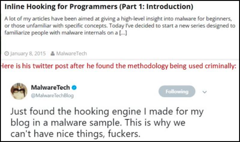 """Tweet von """"MalwareTech"""""""