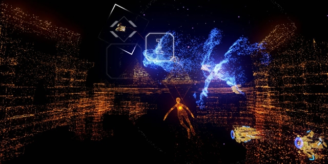 "Screenshot aus ""Rez Infinite"""