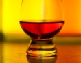 Schottischer Single Malt Whisky in einem Glas