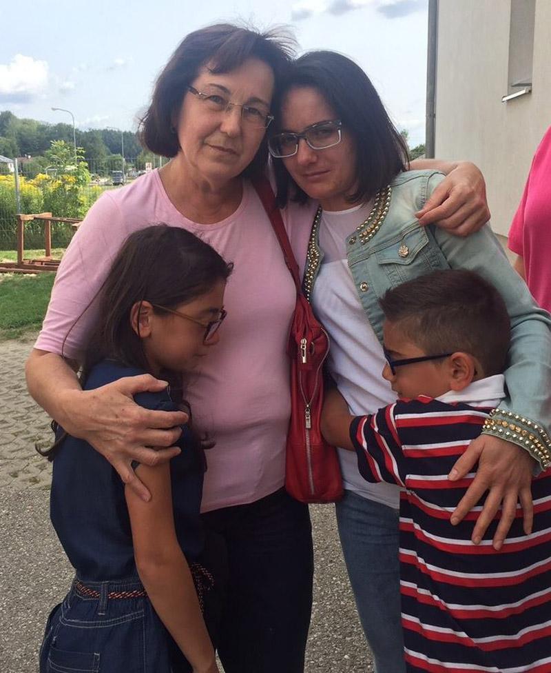 Flüchtlingsfamilie vor Abschiebung