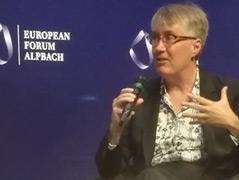 Die Informatikerin Joanna Bryson beim Europäischen Forum Alpbach