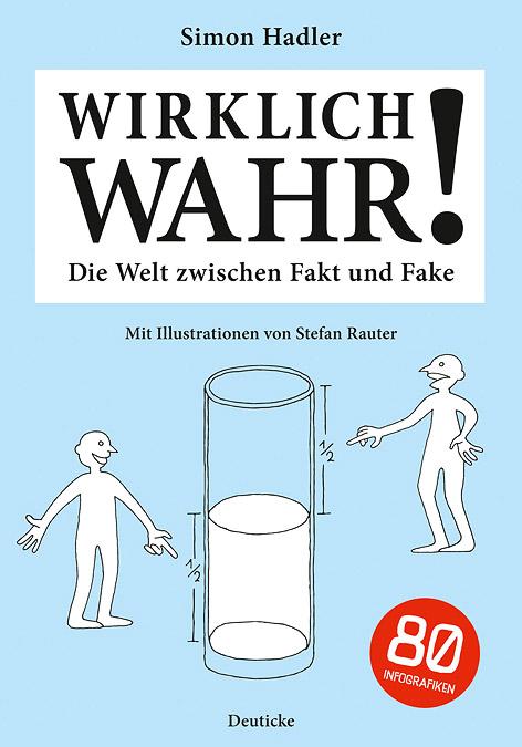 """Buchcover von Simon Hadlers """"Wirklich Wahr!"""""""
