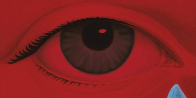 Grafik: weinendes Auge