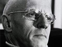 Porträtfoto von Michel Foucault