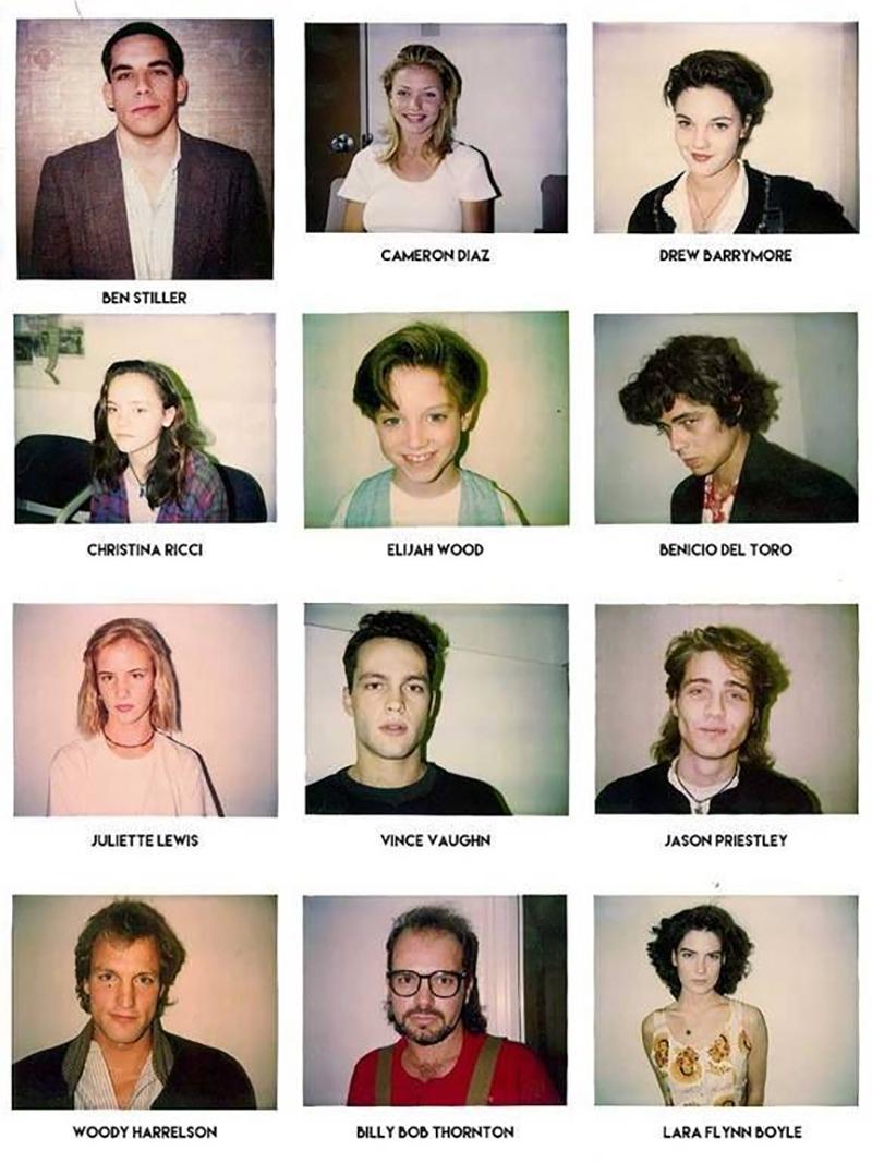 casting polaroids
