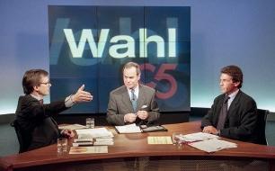 Konfrontation 1995 <br /> Wolfgang Sch&uuml;ssel und J&ouml;rg Haider
