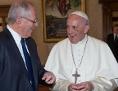 Papst Präsident Peru  Pedro Pablo Kuczynski Godard