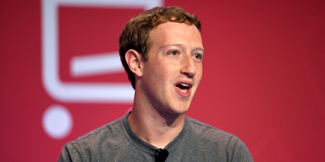Marc Zuckerberg beim Mobile World Congress in Barcelona 2016