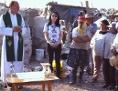 Armen-Priester Martin Römer Mexiko