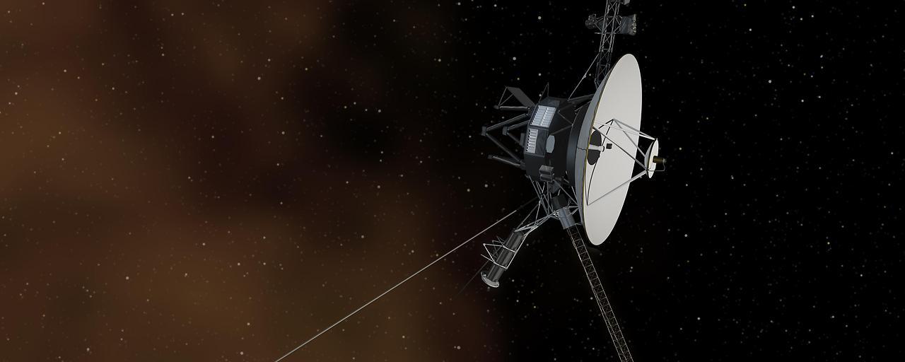 """""""Voyager 1"""" hört das Plasma brummen"""