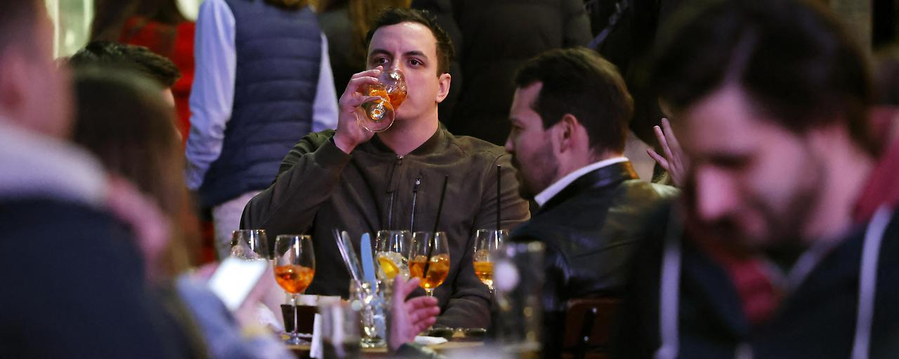 Unter Alkoholeinfluss schrumpft der Abstand