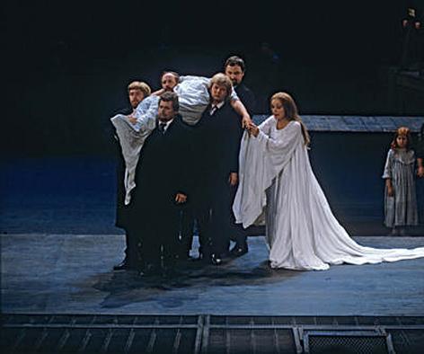 Der Ring des Nibelungen: Götterdämmerung, Inszenierung Bayreuth 1976