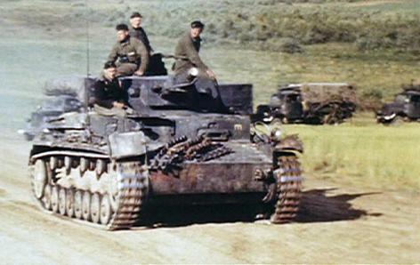 Deutsche Soldaten an der Ostfront