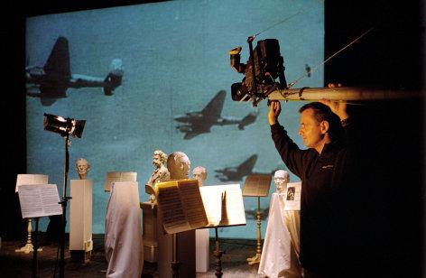 Im Bild: ORF-Dreharbeiten im Kleinen Festspielhaus Salzburg.