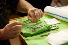 Operationswerkzeuge für Beschneidung