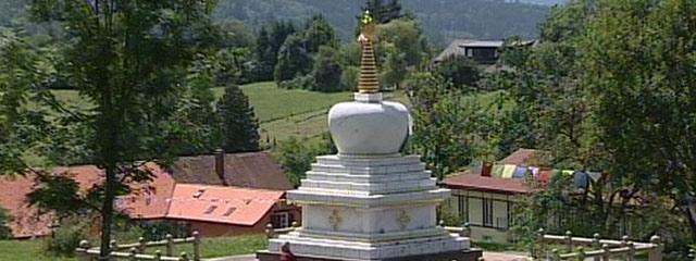 Das buddhistische Kloster Letzehof in Vorarlberg