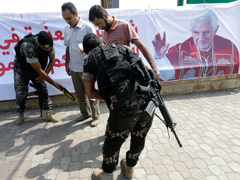 Strenge Sicherheitsvorkehrungen wegen Papst-Besuchs in Beirut