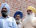 drei Angehörige der Sikh Religion