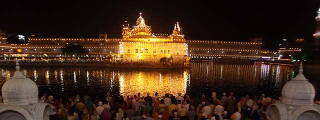 Goldener Sikhtempel