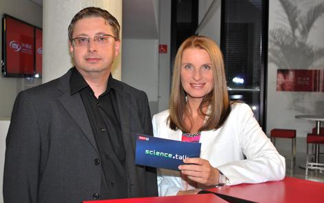 Astrobiologe Johannes Leitner, Barbara Stöckl