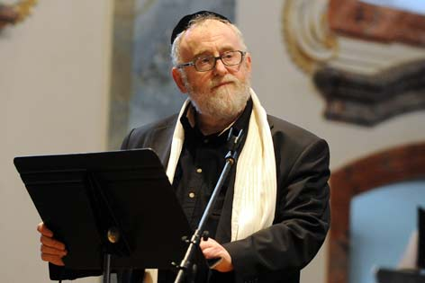 Oberrabbiner Paul Chaim Eisenberg