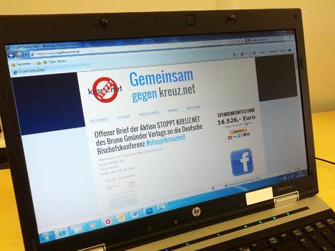 """Homepage """"Stoppt Kreuz.net"""""""