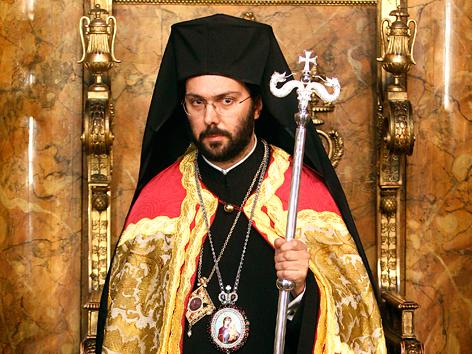 Der griechisch-orthodoxe Metropolit Arsenios Kardamakis