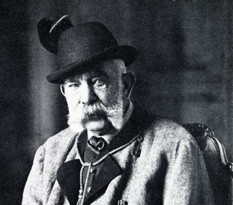 Im Bild: Kaiser Franz Joseph I. im Jagdanzug.