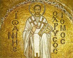 Mosaik von Johannes Chrysostomos