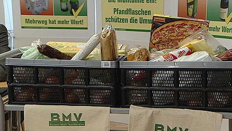 Jeder Österreicher wirft jährlich 11,5 Kilo genießbare Lebensmittel in den Müll.
