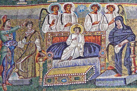 Anbetung des Jesuskindes - Santa Maria Maggiore