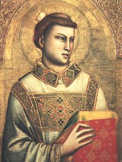 Stephanus mit Attributen