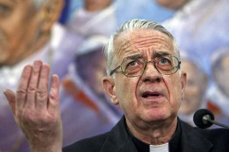 Vatikansprecher Federico Lombardi