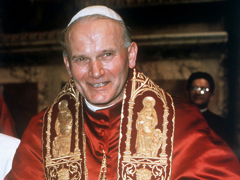 Papst Johannes Paul II. im Jahr 1978