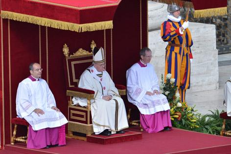 Amtseinführungsgottesdienst von Papst Franziskus