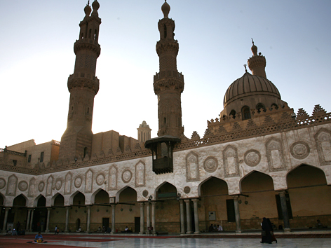 Die Al-Azhar-Moschee in Kairo