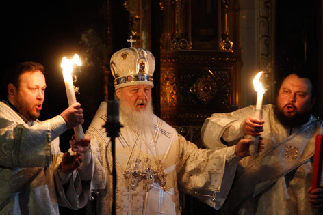 Der russich-orthodoxe Patriarch Kirill I.
