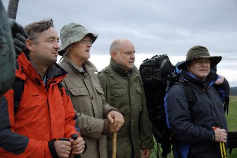 Im Bild: Andreas Vitasek, Dolf de Vries, Erwin Steinhauer, Wolfgang Böck.